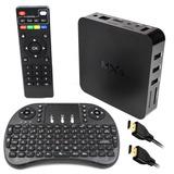 Google Tv Box Mxq Smart Tv Android 6.0 Wifi Hdmi + Teclado