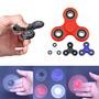 Estados Unidos 4 Color Mano Spinner Fidget Tri Ball Escrito