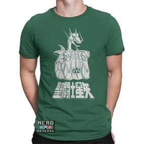 Camisa, Camiseta Cavaleiros Do Zodíaco Shiryu Saint Animes