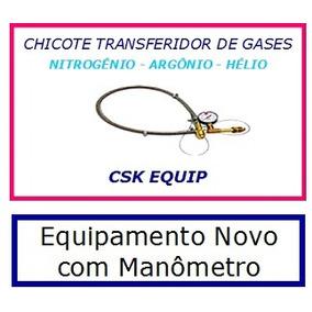 Transferidor De Gas Argônio - Hélio - Nitrogênio Abnt 245-