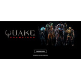 Juego Quake Champions Pack - 6 Seriales Disponibles Original