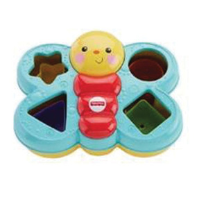 Fisher-price Encaixa Borboleta Mattel