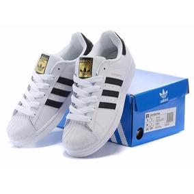f5b23ee254 Tênis Adidas Superstar Feminino Branco - Tênis Adidas no Mercado ...