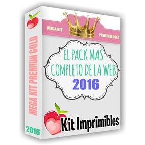 Mega Kit Imprimible Premium Gold Empresarial + Candy Bar!!!