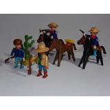 Playmobil Velho Oeste - Cavalaria Vermelha E Índio Scouter!
