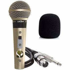 Microfone Leson Sm58 P4 Vocal Profissional P R O M O Ç Ã O