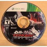 Tekken Tag Tournament 2 Xbox 360 Usado Blakhelmet C