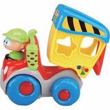 Juguete Bebe Auto Camion Tolva Musical Didactico Luz Sonido