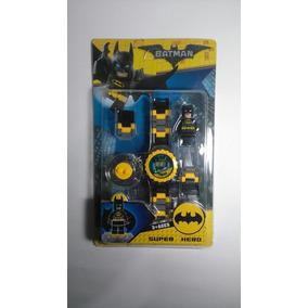 Reloj Infantil Niño Batman Compatible Con Lego