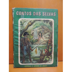 Livro Contos Das Selvas Gonçalves Ribeiro - Leia A Descrição