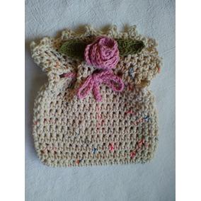 Bolsita De Crochet , Para Regalar , Souvenir O Darse Un Mimo