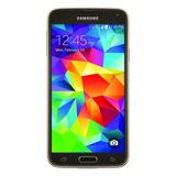 Samsung Galaxy S5 Reacondicionado. Modelo Sm G900t1 Dorado