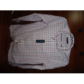 Tommy Hilfiger Camisa 15 1/2 34-35 Ideal Talla Grande