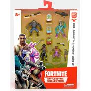 Fortnite Mini Bonecos 4 Personagens Com Acessórios - Fun