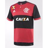 Camisa Flamengo Camiseta Vermelha Nova Modelo 1 2017 Mengão