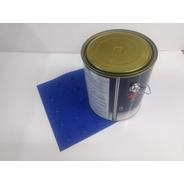 70 Pçs Piso Direcional Azul Pvc + 1 Lata Cola 2.8kg