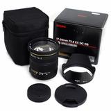 Lente Sigma 17-50mm Nikon F2.8 Ex Parasol + Bolsa P. Entrega