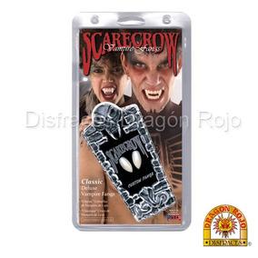 Colmillos Profesionales De Vampiro Scarecrow Classic Y Small
