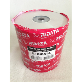 Cd-r Virgen 80 48x Ridata 700mb