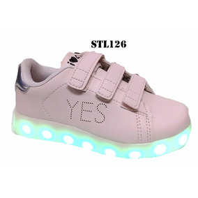 Zapatillas Led 47 St Footy Carga Usb Mundo Moda Kids