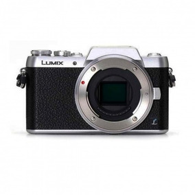 Câmera Panasonic Lumix Dmc-gf7 Corpo Prata
