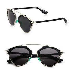 Lentes De Sol Christian Dior So Real Black Silver