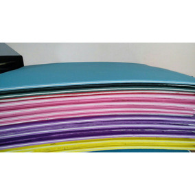 4 Placa De Borracha P/ Fabricação De Chielos+100 Tiras