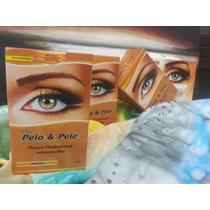 Henna P/ Sobrancelhas Pelo & Pele Kit C/ 12 Unid.