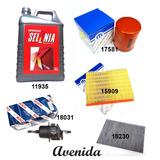Kit Filtros Fiat Palio Siena Fire + Aceite Selenia K 15w40