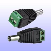 Conector Corriente Macho-hembra Cable Siames Camaras Cctv