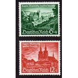 Grc108 Selos Alemanha Reich 1940 Mi#748/49 Mint Goma 13 Eu