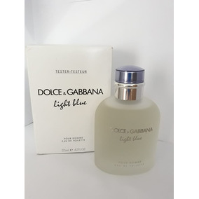 Perfume Masculino D   G Light Blue 125ml Tester Frete Grátis 053ebbf51e70