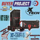 Case Gamer Xtech Xt-gmr-s Combo Teclado Mouse Parlantes Audi