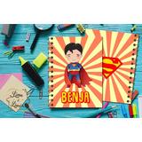 Cuadernitos Personalizados Superheroes