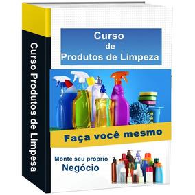 Curso Completo De Produtos De Limpeza.