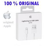 Cabo Lightning Original Apple 2 Metros 2m Iphone 5 6 7 Ipad