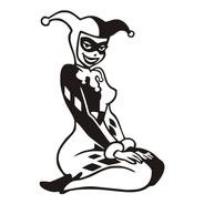 Calcomanía Harley Quinn 01 - 20 X 13 Cm Graficastuning