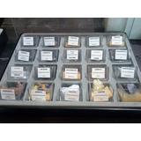 Coleccion De Piedras Y Minerales Grandes En Caja C/u