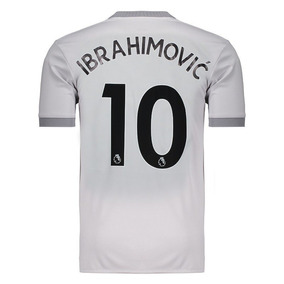 Camisa adidas Manchester United Third 2018 10 Ibrahimovic c1db5f9ac95b2
