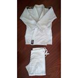 Kimono Branco Trançado A0 Banzai