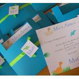 Invitaciones Primer Año Infantiles Tarjetas Bautismo