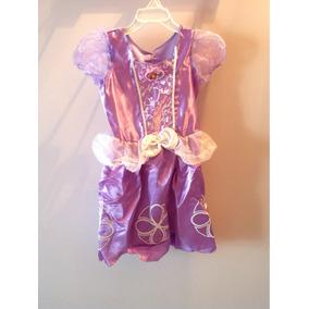 Princesa Sofía Disfraz Original Nuevo Talle 4 A 6 Años