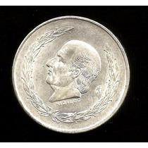 Hidalgo 5 Pesos Plata 0.720 1954 Clave