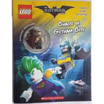 Lego Activity Book - Chaos In Gothan City -minifigure Batman