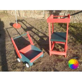 Torre + Carro De Empuje - Caminador - Wepull - Montessori -