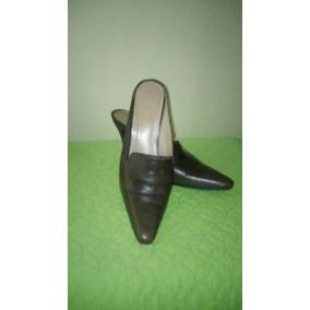 Zapatos Dama Tipo Sueco ,marron Talla 38.