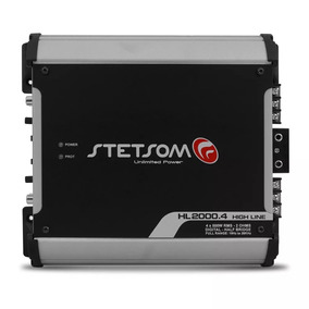 Modulo Digital Stetsom Hl2000 4 2000w Rms 4 Canais 2 Ohms