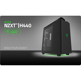 Case Gamer Nzxt H440 Razer Mid Tower
