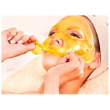 Mascarilla Facial Oro Colageno Revitaliza Hidrata Rejuvenece