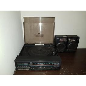 Vitrola Toca-discos Vinil E Cassete Cce Shc 5400